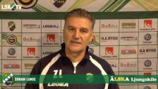 Zoran Lukic inför bortamatchen mot IK Frej Täby