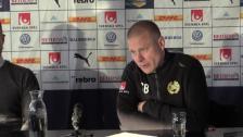 Se presskonferensen efter segern i Örebro