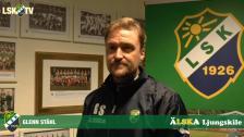 Glenn Ståhl inför träningsmatchen mot IFK Uddevalla