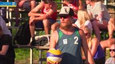 Linus Frantzich/Tobias Helbig - Viktor Jonsson/Mattias Magnusson