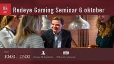 Livestream: Redeye Gaming Event 2016-10-06 - 06 Oct 12:07