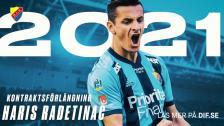 Haris Radetinac om det nya kontraktet över säsongen 2021