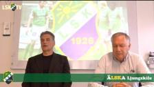 Presskonferens, Zoran Lukic presenteras som ny tränare i LSK